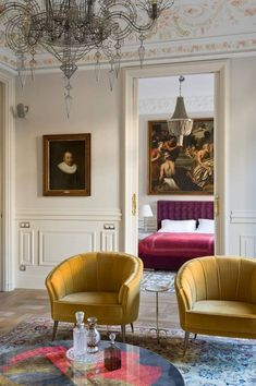 Recamier: know what it is and how to use it in decoration with 60 ideas - Home Fashion Trend Living Room Chairs, Modern Interior, House Design, Luxury Home Decor, Interior Design, Modern Victorian, Home Decor, House Interior, Luxury Interior Design