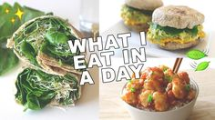 WHAT I EAT IN A DAY! // Healthy & Easy Recipes (vegan/plant-based) (#13) - YouTube