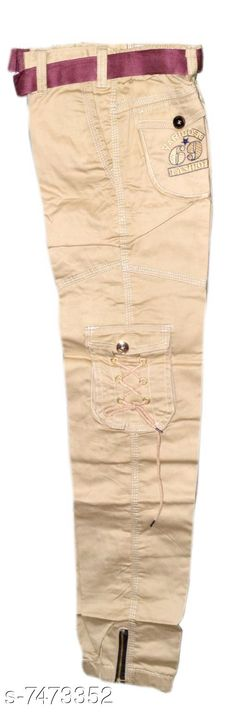 Jeans Boys cargo pants Fabric: Cotton Pattern: Solid Multipack: Single Sizes:  4-5 Years 5-6 years 6-7 years  7-8 years 8-9years- 9-10 years 10-11  (waist Size: 36 in) 11-12(waist  Size: 27 in) 12-13  (waist Size: 28in) Country of Origin: India Sizes Available: 3-4 Years, 4-5 Years, 5-6 Years, 6-7 Years, 7-8 Years, 8-9 Years, 9-10 Years, 10-11 Years, 11-12 Years, 12-13 Years   Catalog Rating: ★3.8 (985)  Catalog Name: Pretty Comfy Boys Jeans & Jeggings CatalogID_1202864 C59-SC1180 Code: 615-7473352-0231