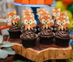Boys 1st Birthday Party Ideas, Happy 2nd Birthday, Birthday Celebration, Fox Party, Baby Shawer, Woodland Party, 1st Birthdays, Forest Decor, Baby Party