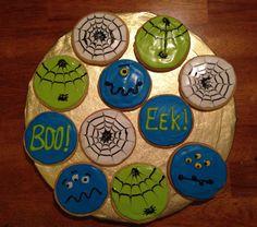Fun Halloween cookies