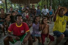 Deep in the Amazon, an Isolated Village Tunes In to the World Cup - NYTimes.com