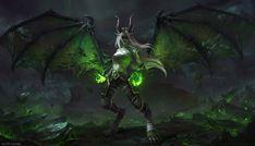 Blood elf :: World of Warcraft :: Warcraft Art :: Warcraft Расы :: Warcraft :: Blizzard (Blizzard Entertainment) :: AstriSjursen :: Demon Hunter :: artist :: фэндомы Art Warcraft, World Of Warcraft 3, Dark Fantasy Art, Fantasy Artwork, Fantasy Character Design, Character Art, Blood Elf, Ange Demon, Demon Wings