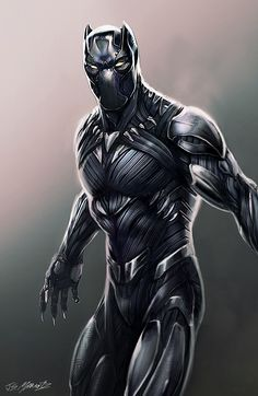 Black Panther Designs for Captain America Civil War, Jerad Marantz Black Panther Marvel, Black Panther Storm, Black Panther Art, Black Panthers, Marvel Dc, Marvel Heroes, Captain America Civil War, Superhero Villains, Marvel Characters