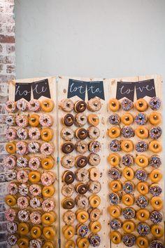 Donut Wall by DonutWallsCo on Etsy https://www.etsy.com/listing/524664126/donut-wall