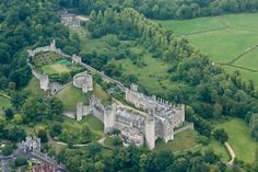 Arundel Castle - The seat of the Duke of Norfolk, Arundel Castle is located in West Sussex in the south of England.