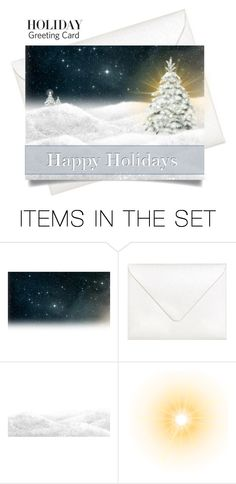 """""""Holiday Card"""" by gokarm ❤ liked on Polyvore featuring art and holidaycard"""