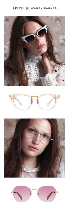 Got an eye for the detail? That makes three of us. We worked with Leith to bedeck a family of frames with lovely (and rarefied) moments: rimless constructions, filigree work, mixed materials, and exposed screws.