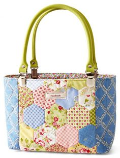Sew Far, Sew Good bag by desgner Keiko Clark in Quilts and More Spring 2016 | AllPeopleQuilt.com
