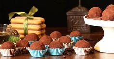 Nechajte sa zlákať týmito chutnými tiramisu bonbónmi - truffles. Recept ako pripraviť nepečené tiramisu guličky na slávnostný stôl či nečakané návštevy