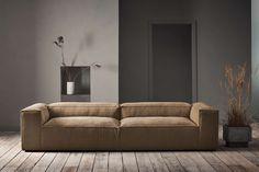 Cosima 3 units with chaise longue left kaschkasch Fawn - Fabric Light Grey Brown Corner Sofas, Brown Sofa, Corner Sofa Living Room, Home Design Living Room, Bolia Sofa, Minimalist Sofa, Cosy Sofa, Modul Sofa, Small Corner