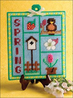 Spring Sampler (from ePatterns Central). . .want to sew all 4 of these. . .great seasonal decorations (as 4 covers the whole year, and you get to enjoy them each for multiple months)!