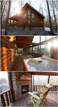 Blue Beaver Luxury Cabins are located only a few minutes from Beavers Bend State Park in southeastern Oklahoma and have outstanding amenities including hot tubs, fireplaces, soft linens and much more.