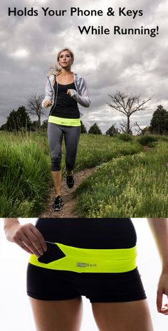 FlipBelt - Use to hold your phone, keys, money, while exercising, running errands, etc.. I need this for the flea market!
