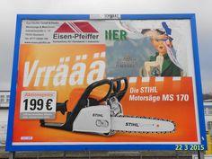 518. - Plakat in Stockach. / 22.03.2015./