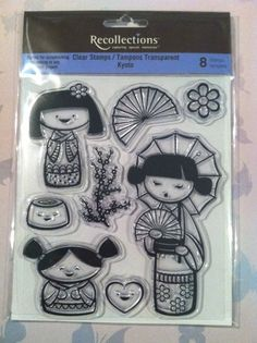 Kyoto Clear Stamp by Recollections 8 Acrylic by RoyalDescent10, $5.35