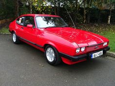My brothers 1986 Ford Capri
