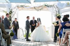 Bay Bridge Wedding Ceremony