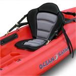 A good seat is imperative for SOT kayaks. There are plenty of choices, and you don't have to spend and arm and a leg for a decent one. This site has not only great seats, but other accessories for SOT's.