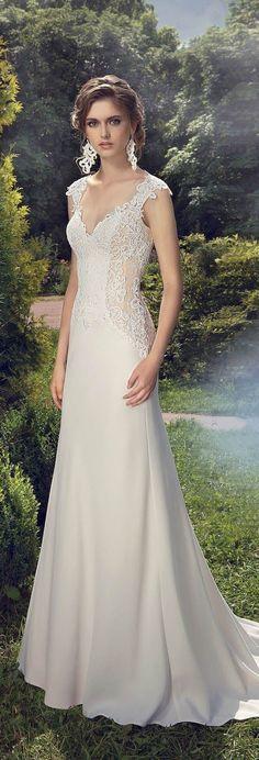 Resultado de imagen para vestidos de novia sencillos
