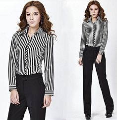 Trendy black trousers for a formal setting.  http://www.formalworkattire.com/formal-trousers-for-women/  #formal trousers #formal pants #women's trousers #trousers for women #work trousers #professional trousers #work attire