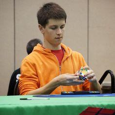 Feliks Zemdegs' Rubik's Cube world record average