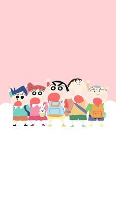 Unity among friends because enemy of one is enemy of every Friend. Sinchan Wallpaper, Snoopy Wallpaper, Sinchan Cartoon, Cartoon Sketches, We Bare Bears Wallpapers, Crayon Shin Chan, Japanese Cartoon, Cute Cartoon Wallpapers, Anime
