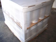 "Machine Pallet Wrap Stretch Film 20"" x 80ga x 5000' (40 Roll / PL) FREE Shipping #ClingTitePalletStretchWrap"