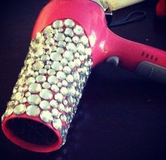 bedazzled hair dryer