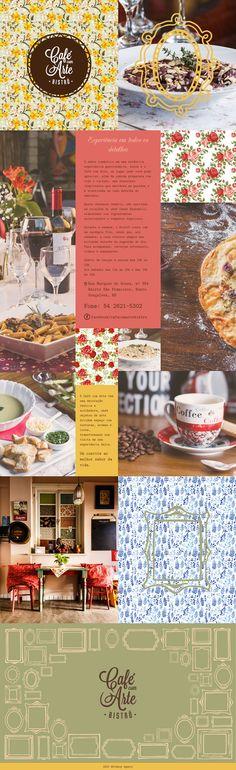 Cafe com Arte - Vintage Web Design