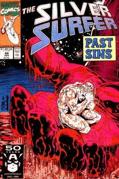 Silver Surfer #48 (Apr 1991).