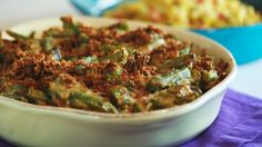 ... Nate Berkus' Green Bean Casserole with Celery Root and Bacon - See more at: http://www.rachaelrayshow.com/food/recipes/19104_nate_berkus_green_bean_casserole_with_celery_root_and_bacon/#sthash.OVtzcCsg.dpuf