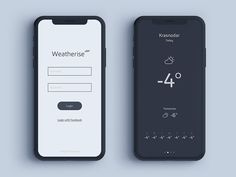 Dailyui Weather App by PavelGnezdilov The Effective Pictures We Offer You About restaurant App Design A quality picture can tell you many things. You can find the most beautiful pictures that can be p Android App Design, Ios App Design, Mobile Ui Design, Interface Web, Interface Design, Web Design, Application Design, Mobile Application, App Design Inspiration