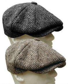 STETSON WOOL TWEED GATSBY Cap Newsboy Hat Golf Men Brown Ivy Flat f824dbff81b4