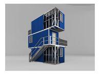 Rotarex Fabrica de Case pe Structura Metalica, produce structuri pentru hale metalice, containere, case modulare sau orice alte structuri metalice.