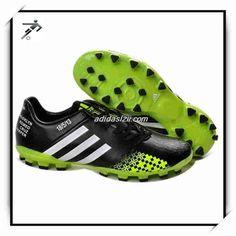 Adidas Predator LZ 2 SL Wholesale Green Black Cheap Soccer Shoes ccb07dd4dd