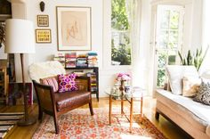 Today's tour is the second in a collaborative series curated by Jeanine Hays and Bryan Mason of Aphrochic for Apartment Therapy. They handpicked homes from around the world to share that capture the culture and style that they celebrate in their book, Remix: Decorating with Culture, Objects, and Soul. Name: Rena Thiagarajan Location: Russian Hill; San Francisco, California Size: ~800 square feet Years lived in: 8 years; rented Rena's cozy San Francisco apartment is truly a feast for the…