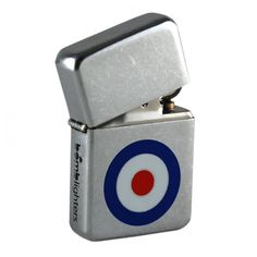 Bomblighter - Mod.  Limited edition; Solid windproof metal lighter; Full lifetime guarantee; Comes boxed and in a tin case; Excellent collectors item; Makes an ideal gift! 6cm Tall x 4cm Wide.  For more information please click the link or visit dotcombong.com.