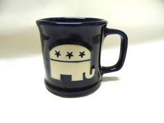 Republican GOP Cup Mug Elephant Large Coffee by sweetie2sweetie