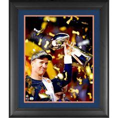 "Peyton Manning Denver Broncos Fanatics Authentic Framed Autographed 16"" x 20"" Super Bowl 50 Champions Celebration Photograph - $367.99"
