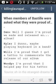 Woody is like the little adorable huggable band member