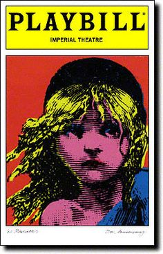 Les Misérables Playbill Covers on Broadway - Information, Cast, Crew, Synopsis and Photos - Playbill Vault