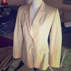 Philippe Adec French blazer Made in France cotton Lycra blend blazer Philippe Adec Jackets & Coats Blazers