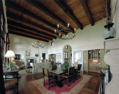 Mediterranean Living Room Design, Pictures, Remodel, Decor and Ideas - page 4