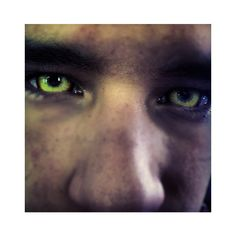 Teen Wolf Behind the Scenes Tyler Posey werewolf eyes.png via Polyvore featuring home and home decor