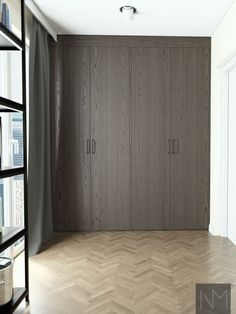 Our replacement Ikea Pax Wardrobe boast straight edges, clean lines and a minimalist appearance. Ikea Pax Wardrobe, Wardrobe Cabinets, Ikea Cabinets, Wardrobe Storage, Farrow Ball, Nordic Design, Front Design, Wood Colors, New Homes