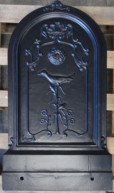 Wandbrunnen Antik puits Lion Lavabo Jardin Fontaine en fonte 74 cm 15 Kg