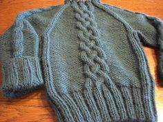 A Knitting Mountain: Adyn's Christmas Sweater