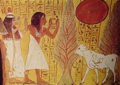 food and drink in the afterlife to the righteous dead were associated ...