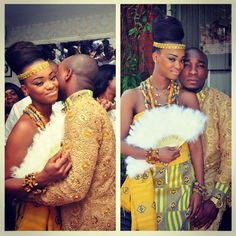 """jehovahhthickness: """" wingsndphillies: """" blackloveisbeautiful: """" dachocolatethunder: """" Traditional Ghanaian Ceremonies """" """" Its official ima marry an African Queen for sure """" Ok soooooooo where my. African Attire, African Wear, African Fashion Dresses, Nigerian Fashion, African Clothes, Ankara Fashion, Ghanian Wedding, African Traditional Wedding, Traditional Weddings"""